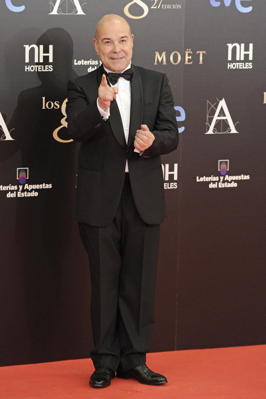 Antonio Resines en los Premios Goya 2013