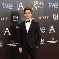 Marc Clotet en la alfombra roja de los Goya 2013