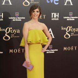 Manuela Velasco en los Goya 2013