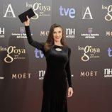 Ángela Molina en la alfombra roja de los Goya 2013