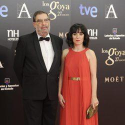 Enrique Gonzalez Macho y Judith Colell en los Goya 2013