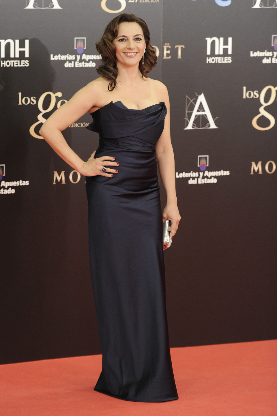 Cati Solivellas en los Premios Goya 2013