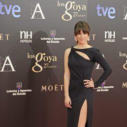 Blanca Suárez en los Premios Goya 2013