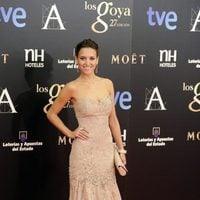 Ana Fernández García en los Premios Goya 2013