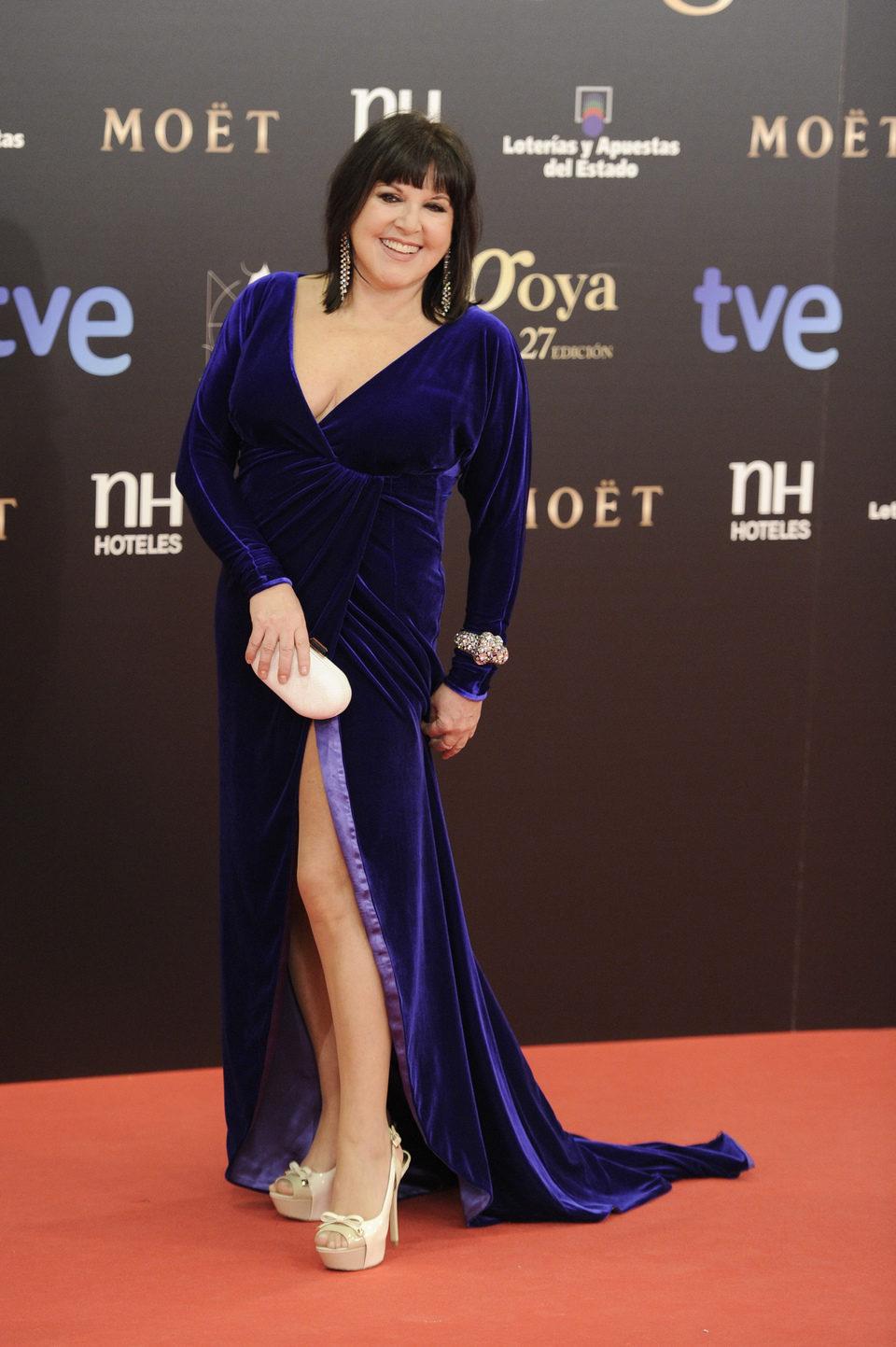 Loles León en los Goya 2013