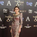 Marta Nieto en los Goya 2013