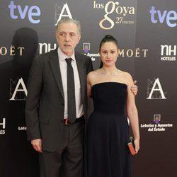 Aida Folch y Fernando Trueba en los Goya 2013