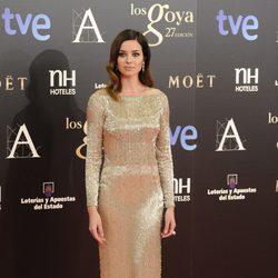Dafne Fernández en los Goya 2013