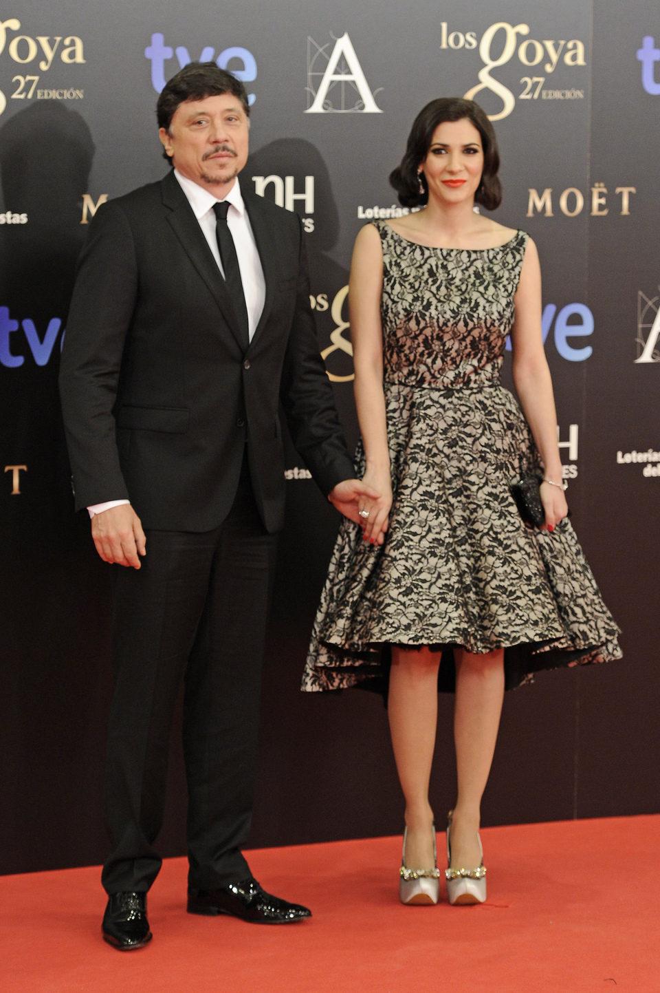 Carlos Bardem y Cecilia Gessa en los Goya 2013