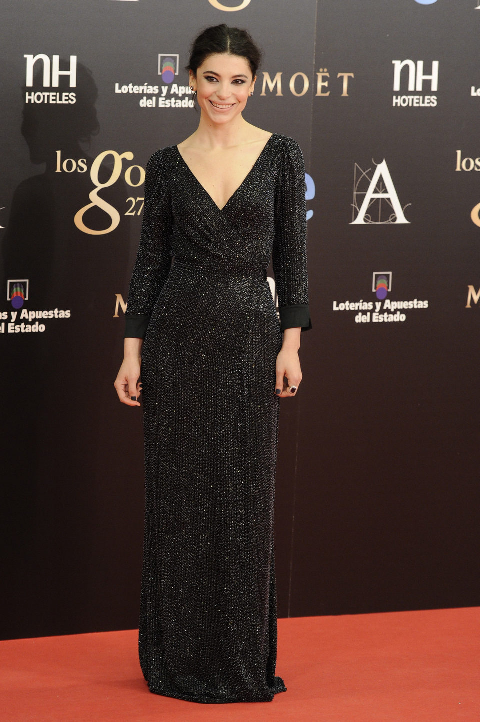 Irene Visedo en los Goya 2013