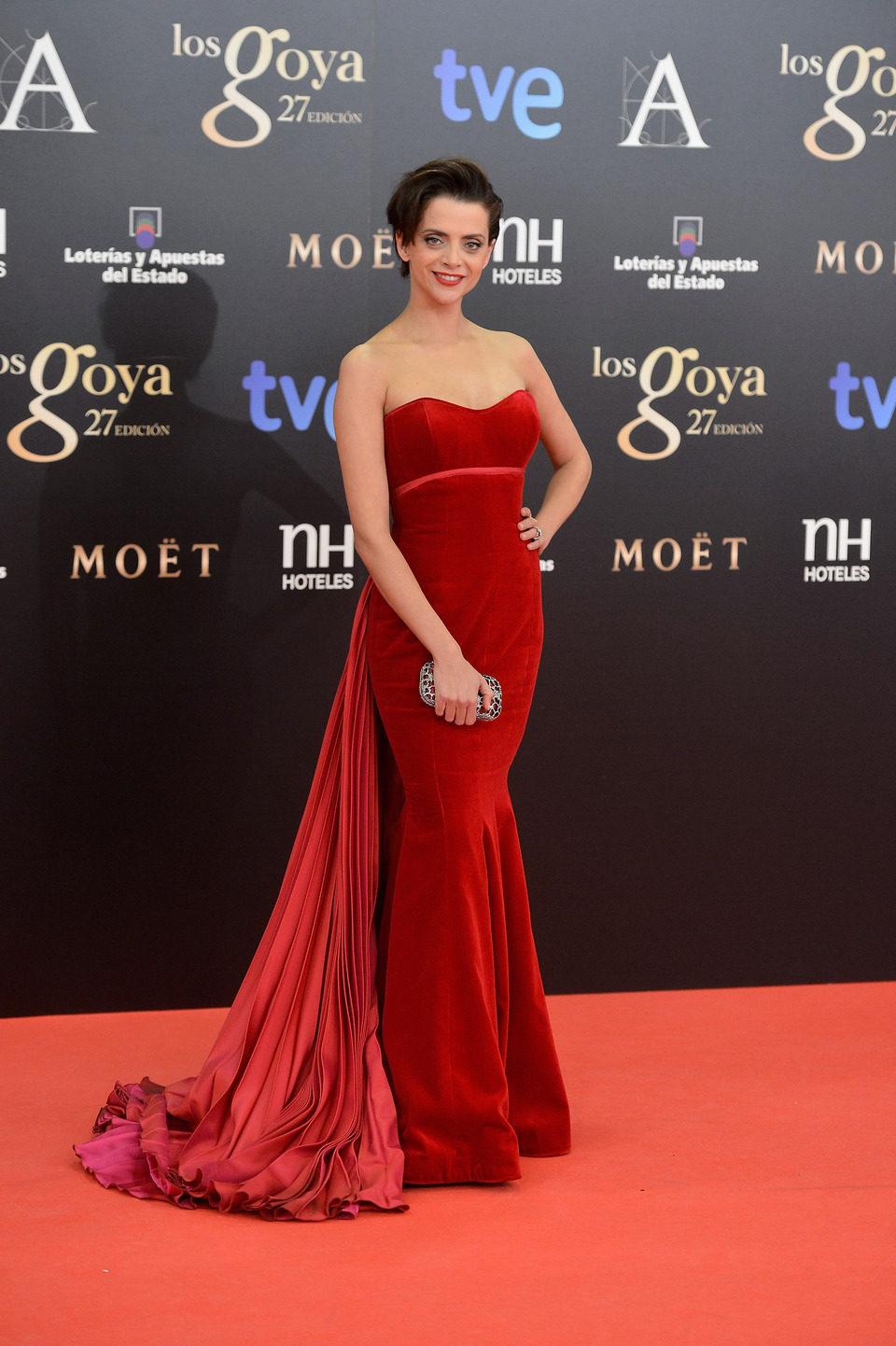 Macarena Gómez en los Premios Goya 2013