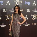 Melanie Olivares en la alfombra roja de los Goya 2013