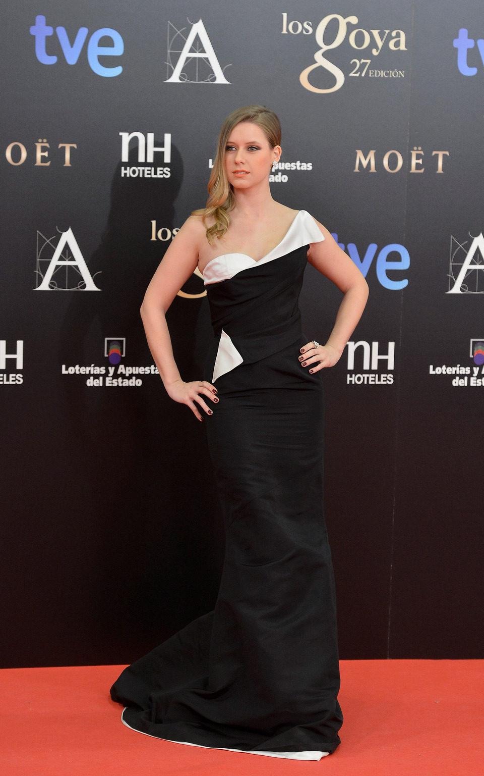 Manuela Vellés en los Premios Goya 2013