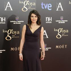 Marta Fernández en los Goya 2013
