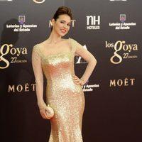 Cristina Brondo en los Premios Goya 2013