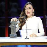 Candela Peña recoge el Goya a mejor actriz de reparto