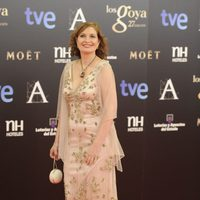 Assumpta Serna en la alfombra roja de los Goya 2013