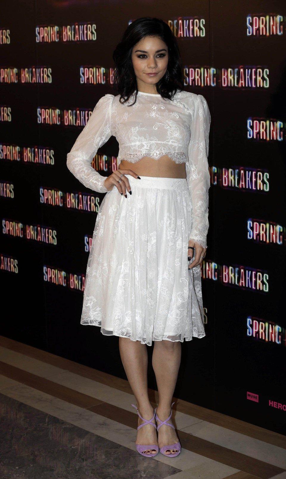 Vanessa Hudgens presenta 'Spring Breakers' en Madrid