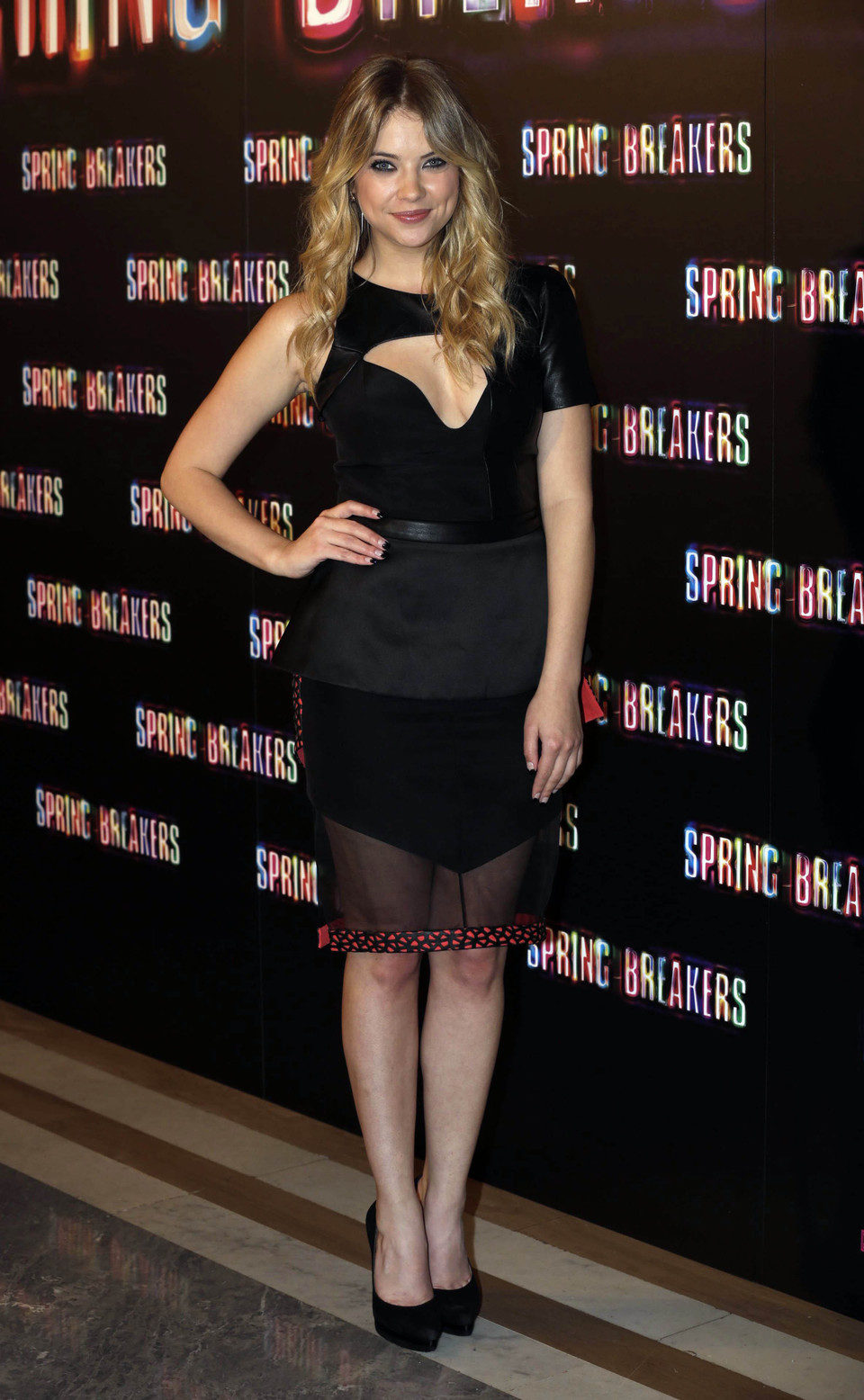 Ashley Benson presenta 'Spring Breakers' en Madrid