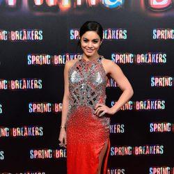 Vanessa Hudgens en la premiere de 'Spring Breakers' en Madrid