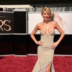 Brandi Glanville en los Oscar 2013