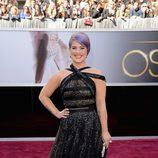 Kelly Osbourne en la alfombra roja de los Oscar 2013