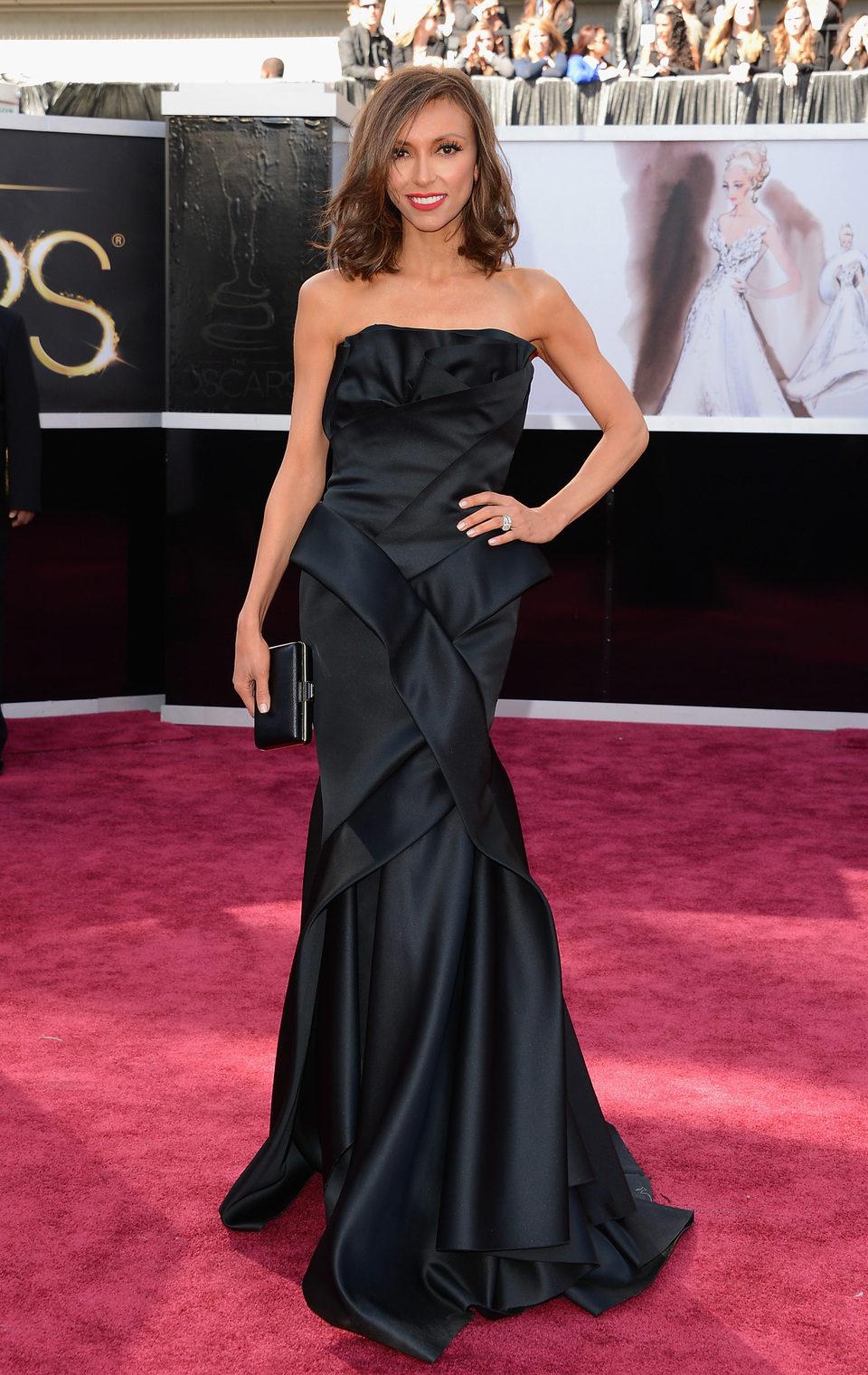 Giuliana Rancic en los Oscar 2013