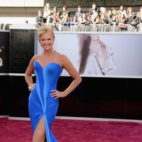 Nancy O'Dell en los Oscars 2013