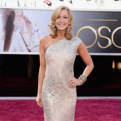 Lara Spencer en los Oscars 2013