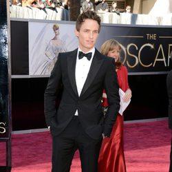 Eddie Redmayne en los Oscars 2013