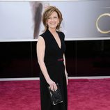 Anne Sweeney en la alfombra roja de los Oscar 2013