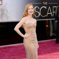 Jessica Chastain en los Oscars 2013
