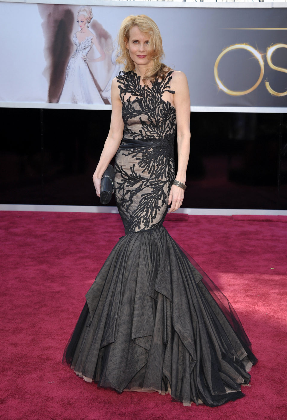 Daryl Hannah en los Oscars 2013