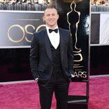 Channing Tatum en la alfombra roja de los Oscar 2013