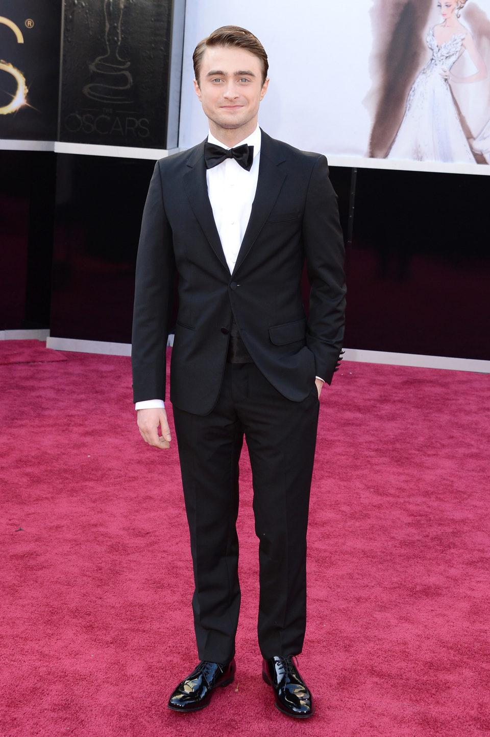 Daniel Radcliffe en los Oscar 2013