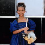 Quvenzhané Wallis en los Oscar 2013