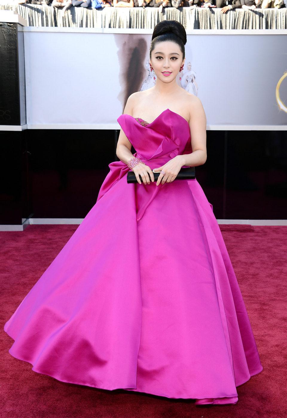 Fan Bingbing en los Oscar 2013