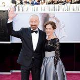 Bryan Cranston en la alfombra roja de los Oscar 2013