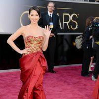 Olivia Munn en los Oscar 2013