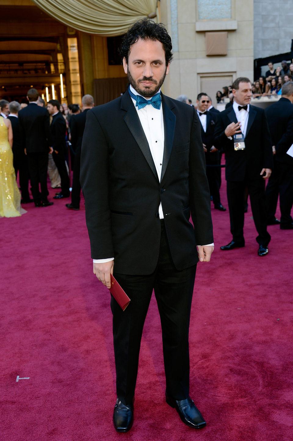 Guy Davidi en la alfombra roja de los Oscar 2013