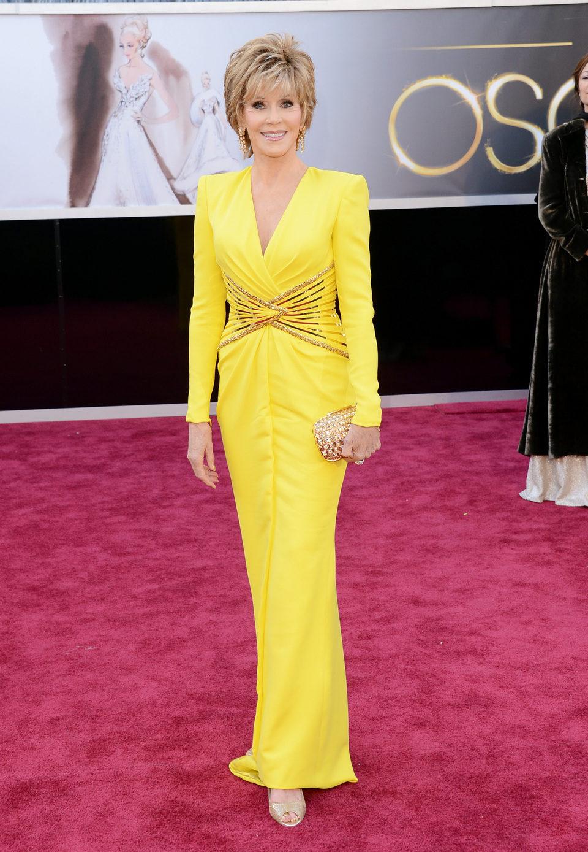 Jane Fonda en los Oscars 2013