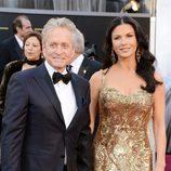 Michael Douglas y Catherine Zeta Jones en los Oscar 2013