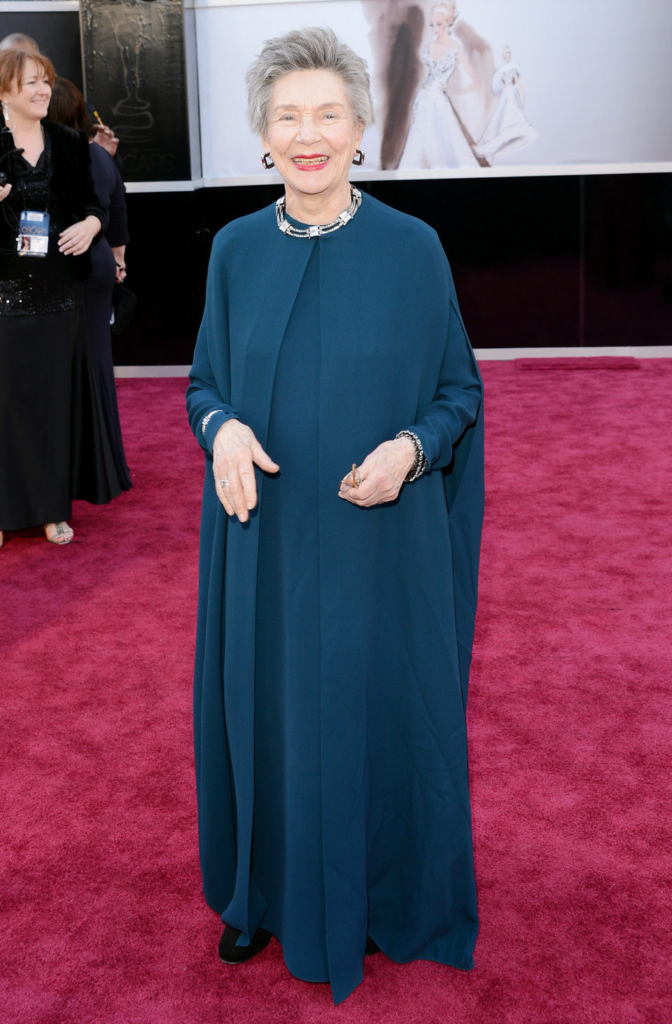Emmanuelle Riva en los Oscar 2013