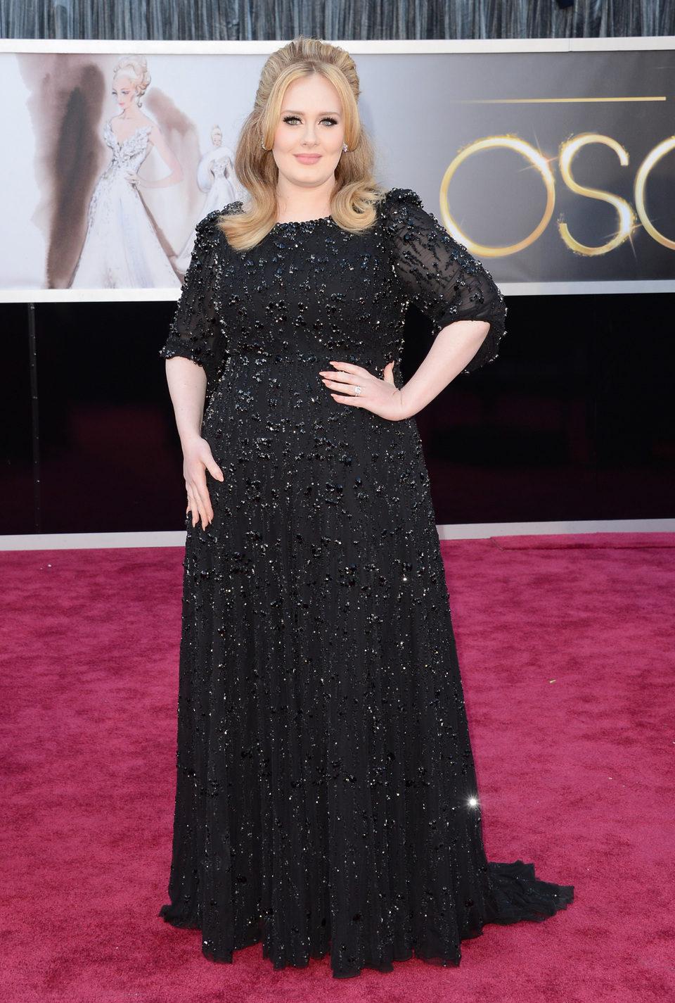 Adele en los Oscar 2013