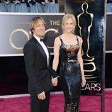 Keith Urban y Nicole Kidman en los Oscar 2013