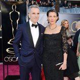 Daniel Day-Lewis y Rebecca Miller en los Oscar 2013