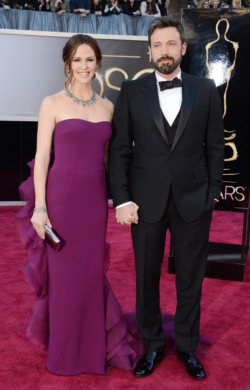 Jennifer Garner y Ben Affleck en los Oscar 2013