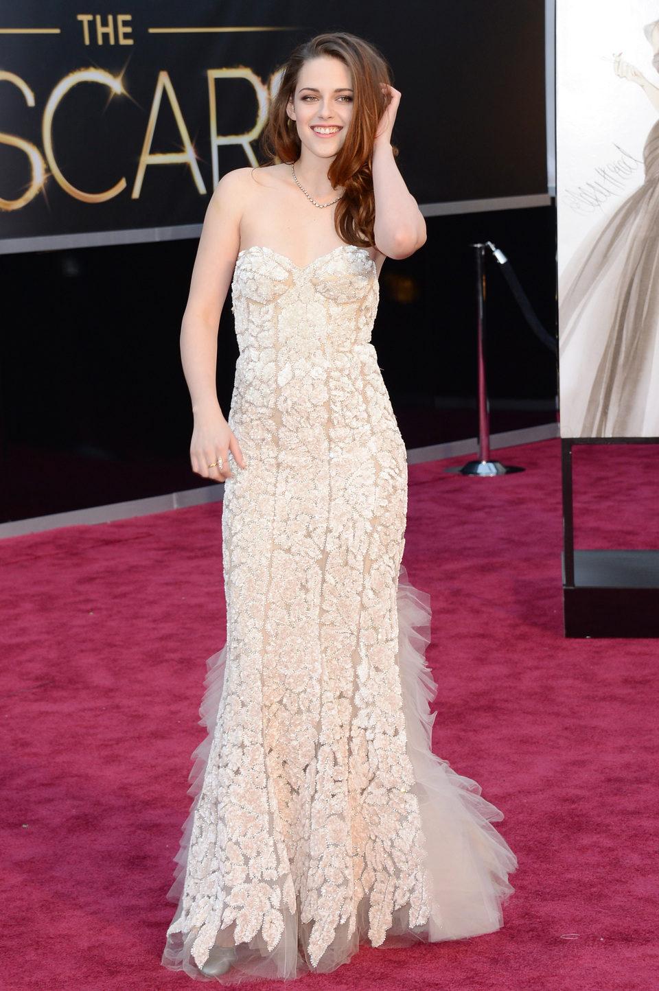 Kristen Stewart en los Oscar 2013