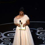 Octavia Spencer presentando el Oscar 2013 a Mejor actor de reparto