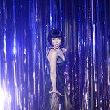 Catherine Zeta Jones durante su actuación en la entrega de los Oscar 2013